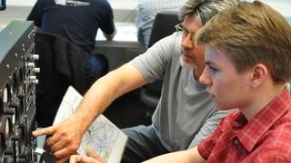 VATSIM Treffen im DLR_School_Lab TUHH