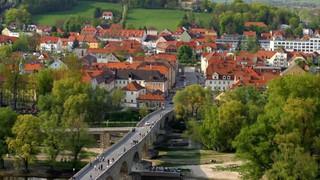 Radwege durch Regensburg