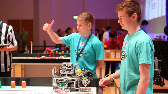 Roboter- und Forschunsgwettbewerb FLL