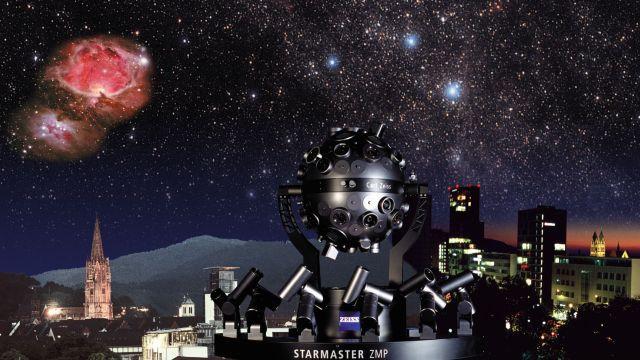 Das Planetarium Freiburg gehört zu den modernsten in Deutschland