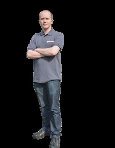 Wirtschaftsingenieur Andreas Leitner ist in der Prüftechnik tätig